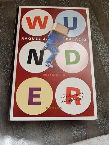 """""""Wunder"""" von Raquel J. Palacio"""