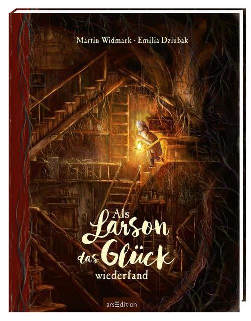 """""""Als Larson das Glück wiederfand"""" von Martin Widmark und Emilia Dziubak"""