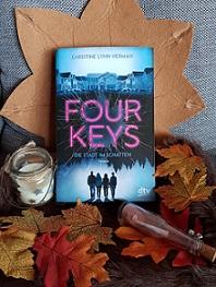 """""""Four Keys - Die Stadt im Schatten"""" von Christine Lynn Herman"""