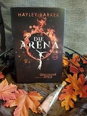 """""""Die Arena - Grausame Spiele"""" von Hayley Barker"""